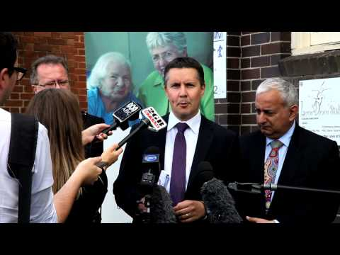 Minister for Ageing Mark Butler announces Aged Care Compact
