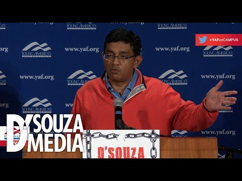 D'Souza unleashes on liberal media coverage of Republicans