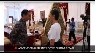 Video Agnez Mo Temui Presiden Jokowi. Ini Yang Dibicarakannya MP3, 3GP, MP4, WEBM, AVI, FLV Februari 2019