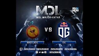 Mad Lads vs OG, MDL EU, game 3, part 1 [Lum1Sit, Eiritel]