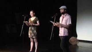 Poetry School Camarade - Holly Hopkins & Daniel Eltringham
