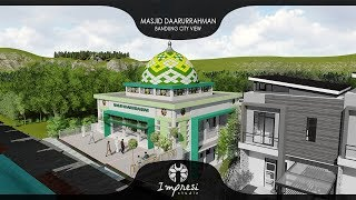IMPRESI : Desain Masjid Darrurrahman - BCV