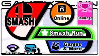 Smash Bros 3DS Menu Music