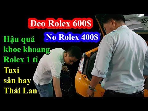 Hậu quả khoe khoang rolex 1 tỉ bị taxi Thái Lan chém và cái kết được em lễ tân yêu đắm đuối - Thời lượng: 25 phút.