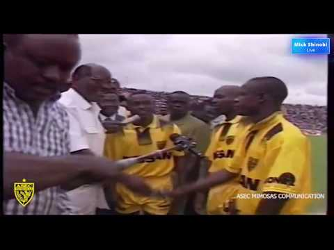 Asec Mimosas 4 vs 0 Africa Sport (Coupe Nationale 1997)