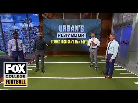 Video: Urban Meyer breaks down how to beat man coverage | URBAN'S PLAYBOOK | FOX COLLEGE FOOTBALL