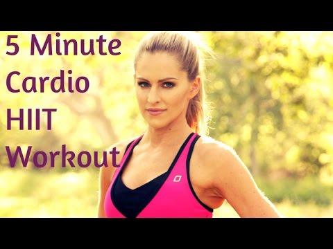 전신 지방 칼로리 태우기 - 5분운동