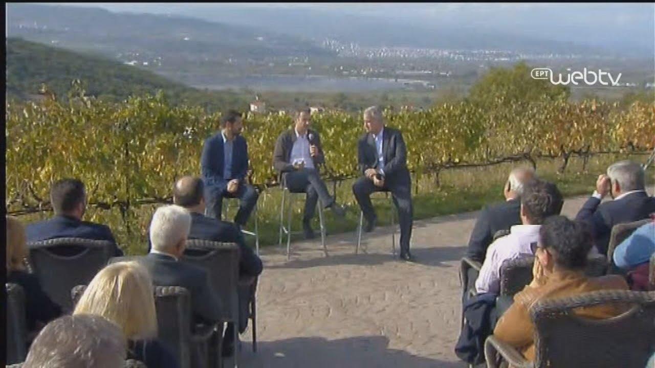 Συνάντηση του Πρωθυπουργού με οινοπαραγωγούς στην Ημαθία