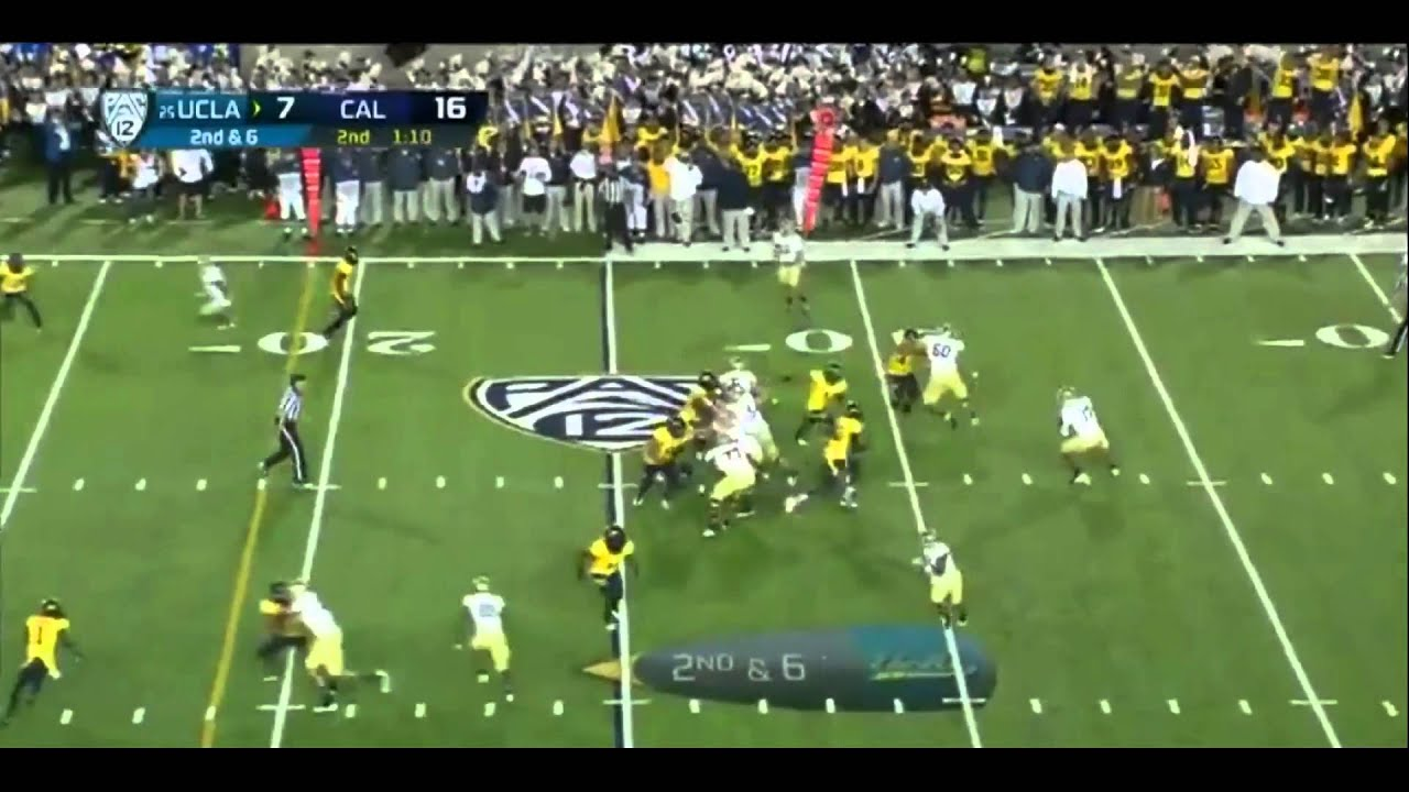 Brett Hundley vs Cal (2012)