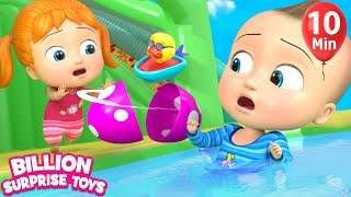 Video Little Babies Playtime | Inflatable water TOY - 3D Baby Nursery Rhyme & Kids Song MP3, 3GP, MP4, WEBM, AVI, FLV Agustus 2018