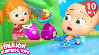 Surprise Eggs & Slides | + More Kids Songs | Billion Surprise Toys