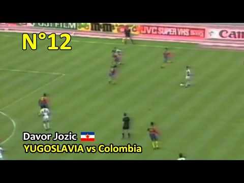 1990 Dünya Kupasındaki En İyi 20 Gol