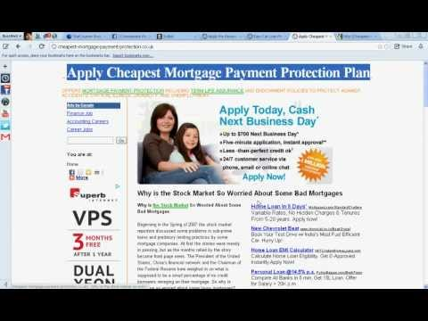 Cheap Mortgage Payment Protection Quotes
