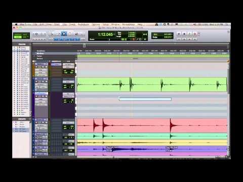 Pro Tools Tutorial – Drum Replacement – Enhancement – Pt 1