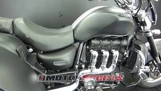 8. 2015 Triumph Rocket III Touring ABS Trike A3369 @ iMotorsports