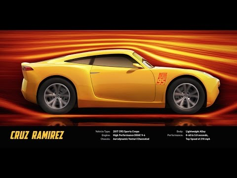 Meet Cruz Ramirez - Disney/Pixar's Cars 3