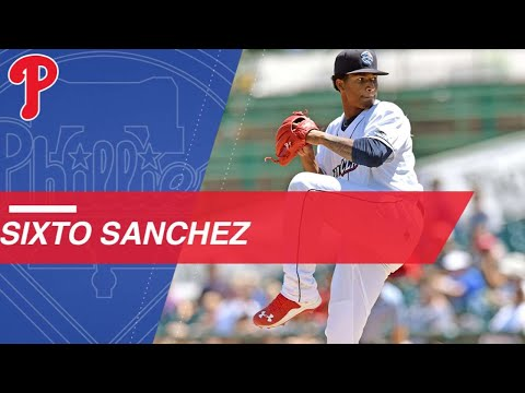 Video: Top Prospects: Sixto Sanchez, RHP, Phillies