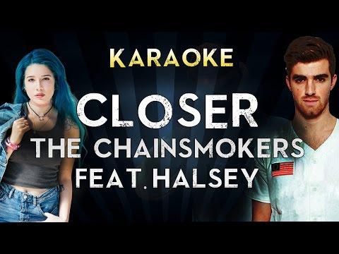 The Chainsmokers - Closer (Karaoke/Instrumental/Lyrics) ft. Halsey