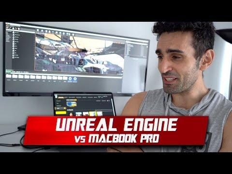 Unreal Engine 4 on MacBook Pro | 555X vs Vega 16 Performance