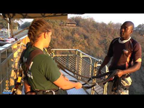 Victoria Falls Bungee Jump!