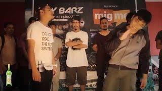Jenesh Vs Rumon - Raw Barz   Rap Battle