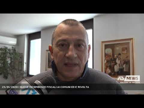23/01/2020 | NUOVE INCOMBENZE FISCALI AI COMUNI ED E' RIVOLTA