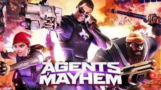 AGENTS OF MAYHEM ALL CUTSCENES: https://www.youtube.com/watch?v=lAyCatvOqyA► GLP Shirts and Merch: https://tinyurl.com/y7sbgb3j► Instagram: http://instagram.com/glplaygr0und► Twitter: http://twitter.com/glittlep► Facebook: http://facebook.com/gLpLayground► GLP TV: https://www.youtube.com/c/glptveeMY THOUGHTS ON THE GAME:What Agents of Mayhem (AOM) does best is take the humor and lightheartedness of Saints Row 3 and 4, and copy and paste it onto AOM. That is of course, if you like Saints Row (SR) 3 and 4. There are many, who only like the first 2 Saints Row for its much grittier approach.  And rightfully so, the first two SR's are classics in their genre. For me, the game is never quite as funny as SR4. The characters are certainly interesting, and the best story elements in the game are certainly the small vignettes you get of each character briefly showing us their backgrounds. The main story itself, however, is extremely forgettable and of no consequence.The gameplay is fluid and fun but can get tedious because of the lack of variety in missions. Luckily, each agent is unique and brings different abilities to the table. It's loads of fun learning each character and mastering their techniques. In that way AOM reminds me of Overwatch with its colorful characters and varying abilities. It also helps that you are able to select 3 characters at a time, so it's exciting trying different combinations to see what works best on different missions. The problem is that missions lack variety and get repetitive.  The driving is almost of no consequence and no real challenge. No real difference in how car handles and giant indicators baby you to your next objective.All in all the saving grace of the game is its characters. While not nearly as funny as SR3 or SR4, it's characters still shine through. For a fan of the SR series, I would give it a 7/10. For newcomers, I would only score it a 6.5/10. There's just not enough there to keep you coming back. The game isn't horrible by any means, but feels like it needed more to really shineWe played and recorded the game on the PS4 PRO. As always we used relevant gameplay, important dialogue and all cutscenes to create a fluid experience. We hope you enjoy!