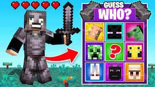 *NEW* NETHERITE Guess WHO For LOOT (Minecraft)