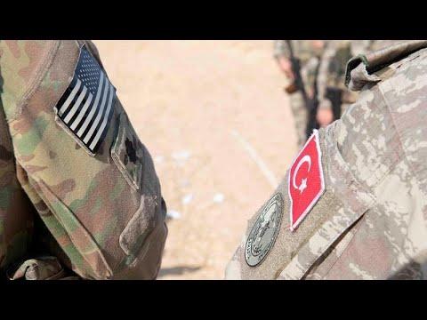 USA: Präsident Trump Trump warnt Erdogan vor Massaker ...