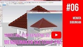 Video Tutorial SketchUp - 06 Menata Bubungan MP3, 3GP, MP4, WEBM, AVI, FLV Desember 2017