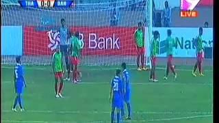Bangabandhu Gold Cup 2015: Bangladesh VS Singapore, 2nd Semifinal-1st Half