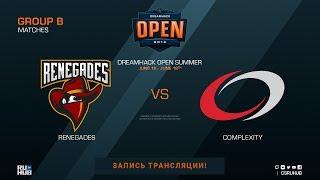 Renegades vs compLexity - DreamHack Open Summer - de_mirage [Donald, Anishared]