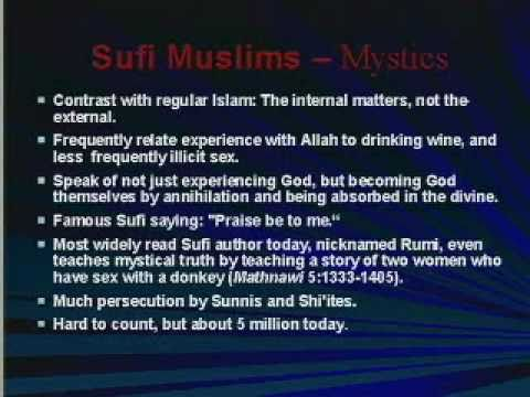 SECTS OF ISLAM #1: FROM MUHAMMAD TO BIN LADEN, MUSLIMS GREATLY DISAGREE & FIGHT WITH EACH OTHER