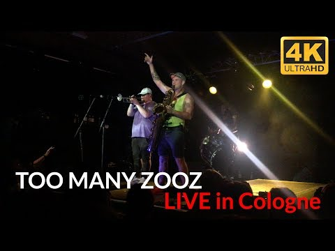 TOO MANY ZOOZ - Warriors SET LIVE In Cologne CBE Leo P. Solo / Dance - From Google Pixel AD