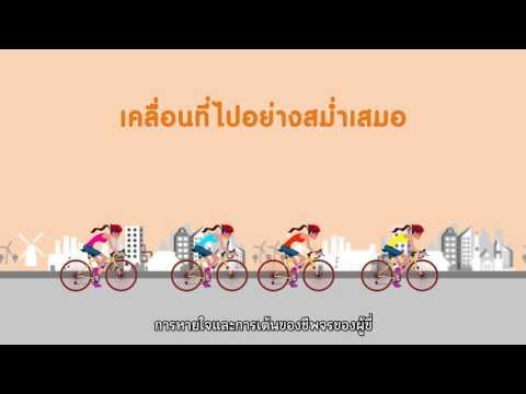thaihealth เทคนิคการขี่จักรยานทางไกลให้ปลอดภัย