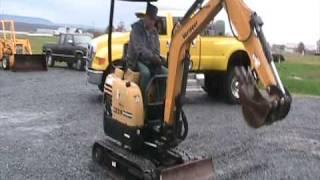 6. Vermeer CX219 Mini- Excavator