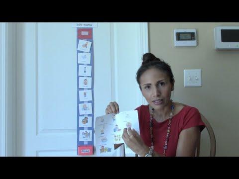 Video #9: Enseñando rutinas a traves del horario de actividades