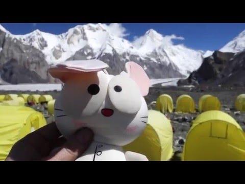 Хантенгри 2015: подъем и лагеря (Khantengri 2015: camps and peak)