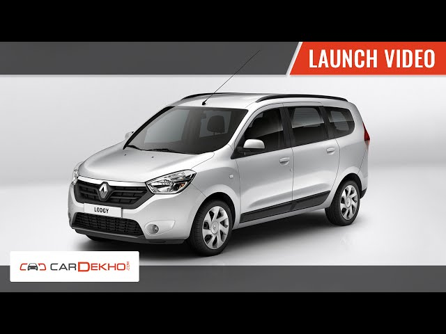 Renault Lodgy launch video