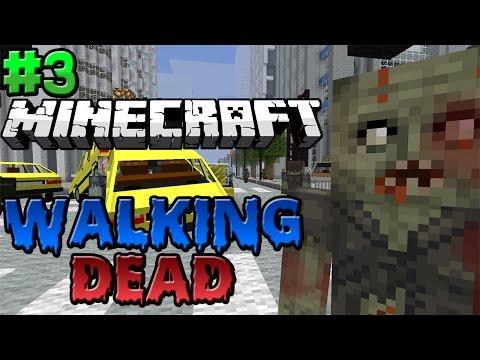 Minecraft : Walking Dead Modded Survival Season 2 Episode 3 – ENTERING THE CITY!