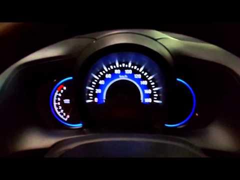 เอาคลิปหน้าจอเรือนไมล์ Honda Mobilio รุ่น 1.5E CVT ตอนสตาร์ทเครื่องมาให้ชม