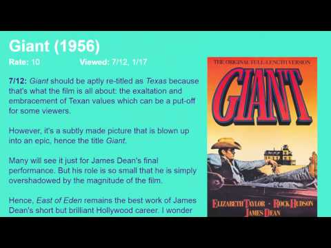 Movie Review: Giant (1956) [HD]