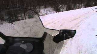 6. Ski doo Grand Touring 1200 4-Tech 2013