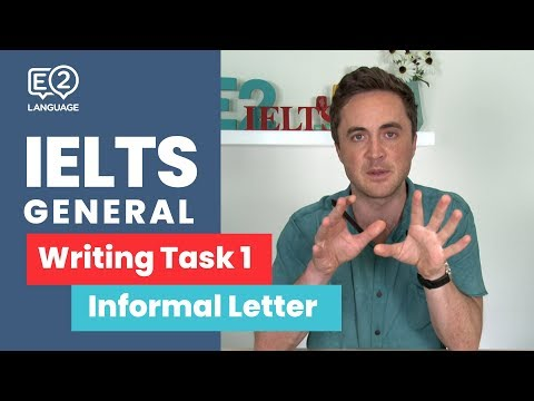 E2 IELTS General Writing Task 1 | Informal Letters | TOP TIPS with Jay!