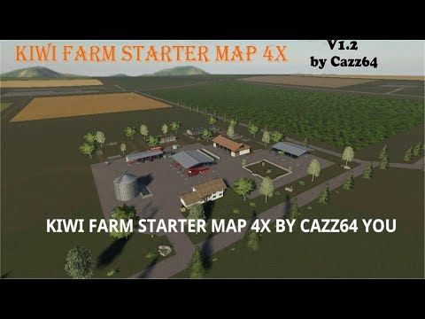 KIWI FARM STARTER MAP 4X v1.2