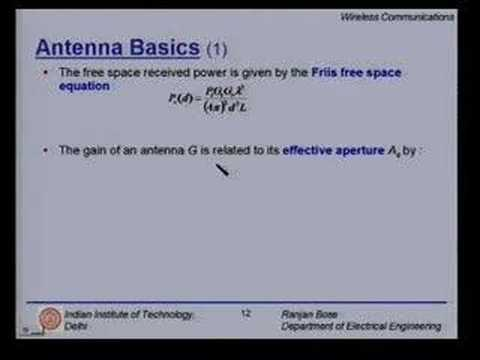 Lecture 8 - Mobile Radio Propagation