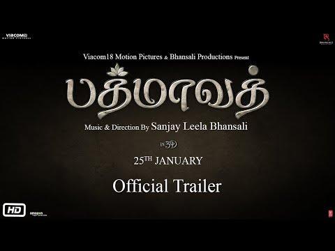 Padmaavat In Tamil Official Trailer Ranveer Singh Deepika Padukone Shahid Kapoor