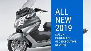 8. 2019 Suzuki Burgman 650 ABS Executive