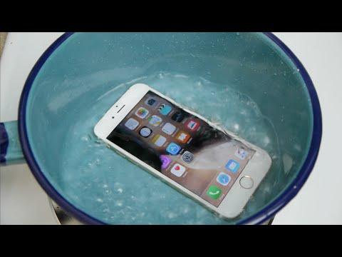 ¿Sobrevivirá el nuevo iPhone a un baño de agua hirviendo?