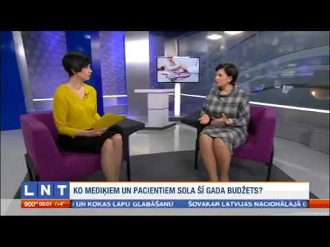 """Veselības ministres Ilzes Viņķeles saruna LNT """"900 sekundes"""""""
